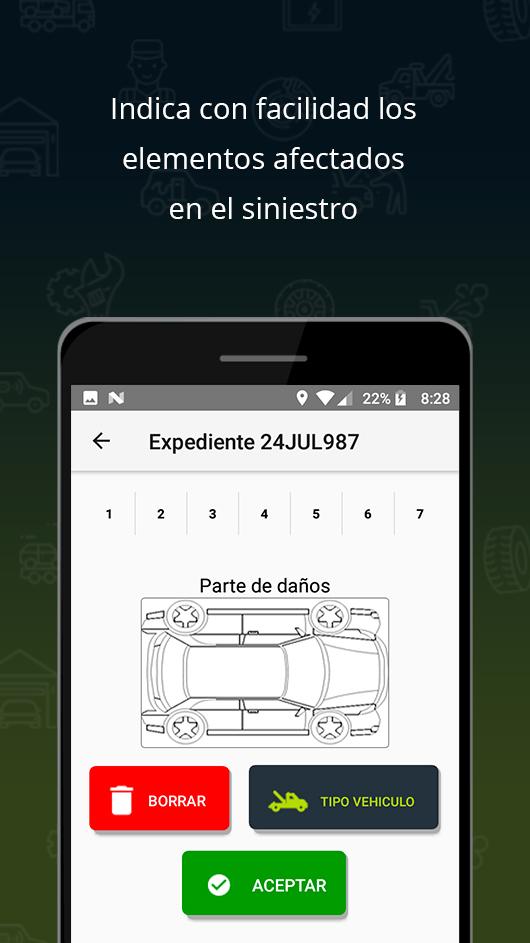 rediseño de interfaz app android efiasistencia