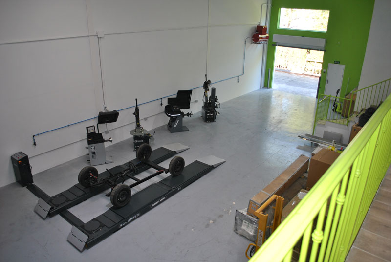 Nuevo showroom de maquinaria
