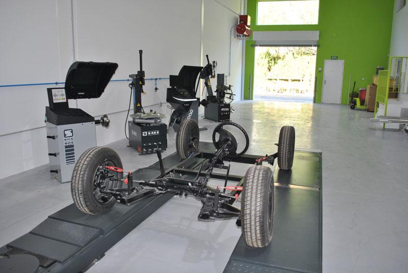 Showroom para nueva maquinaria