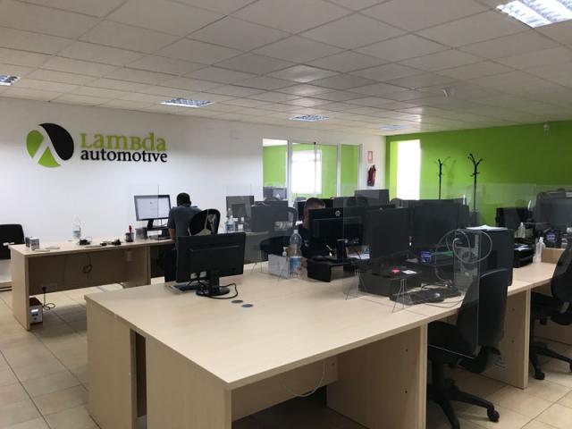 Oficinas más amplias para cada departamento